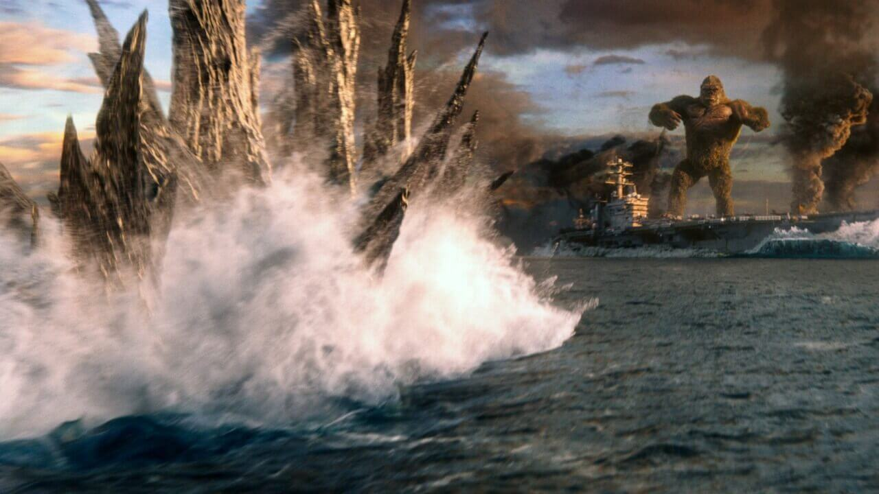Godzilla vs. Kong, Crítica Godzilla vs. Kong, Delfos
