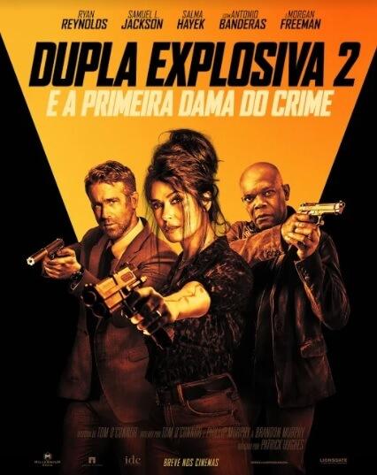 Crítica Dupla Explosiva 2, Paris Filmes, Salma Hayek, Samuel L. Jackson, Ryan Reynolds, Delfos