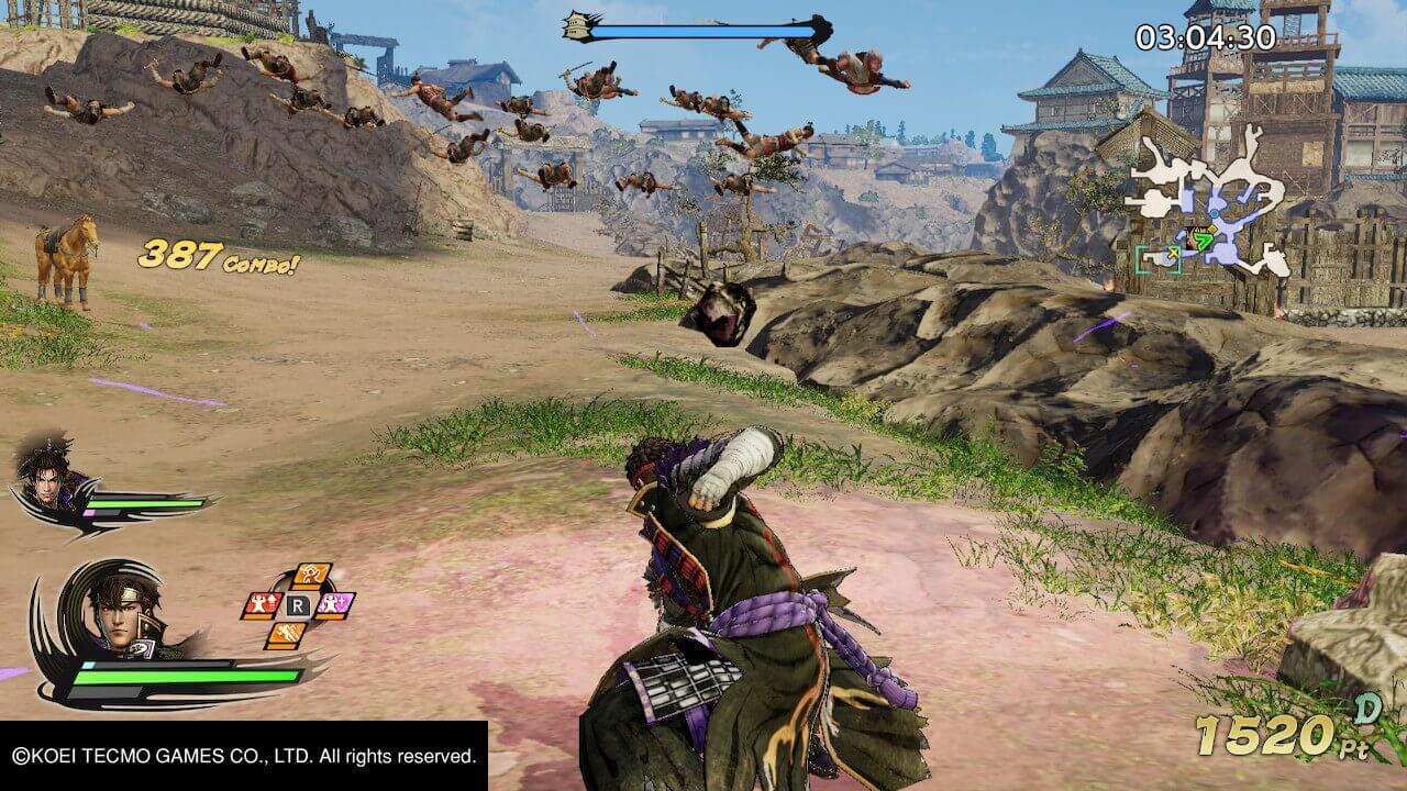 Samurai Warriors 5, Samurai Warriors, Koei Tecmo, Omega Force, Delfos