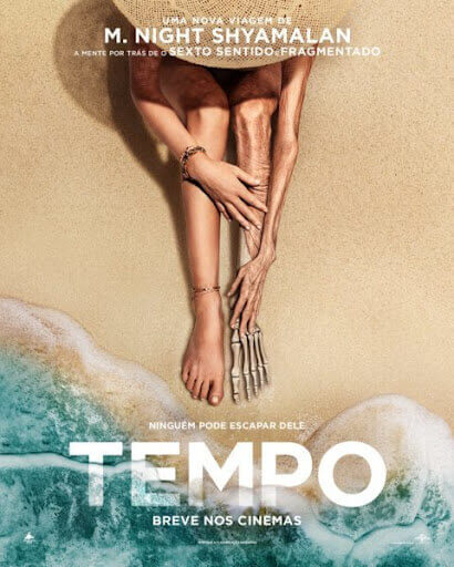 Crítica Tempo, M. Night Shyamalan, Gael Garcia Bernal, Delfos