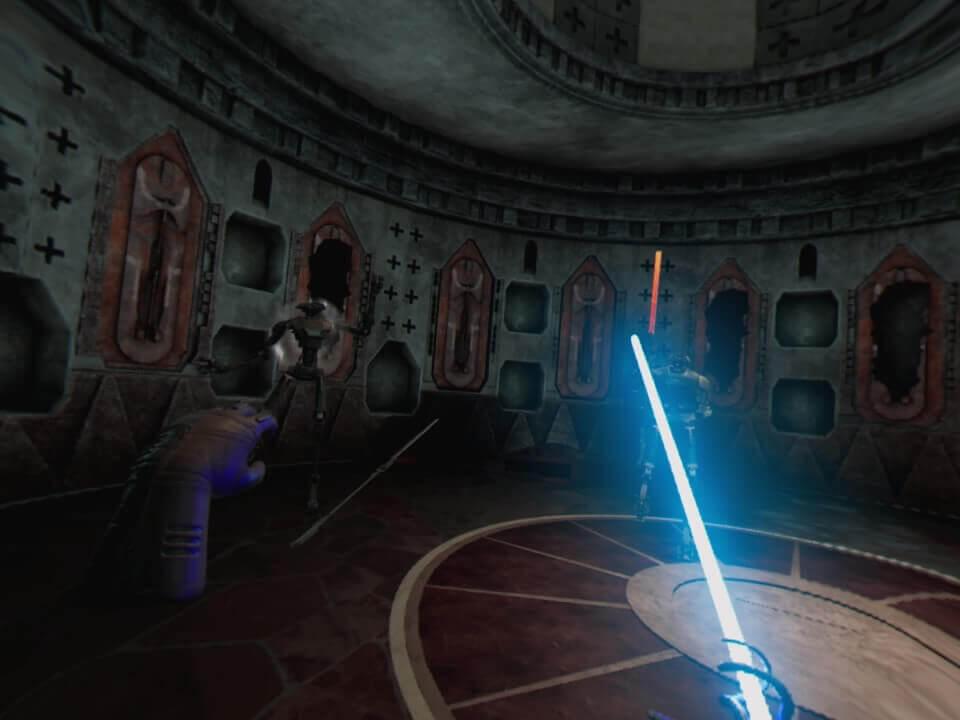 Vader Immortal, Delfos, VR