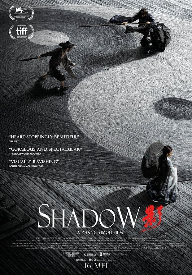 Crítica Shadow, Shadow, Yimoun Zhang, Zhang Yimou, Delfos, Shadow filme