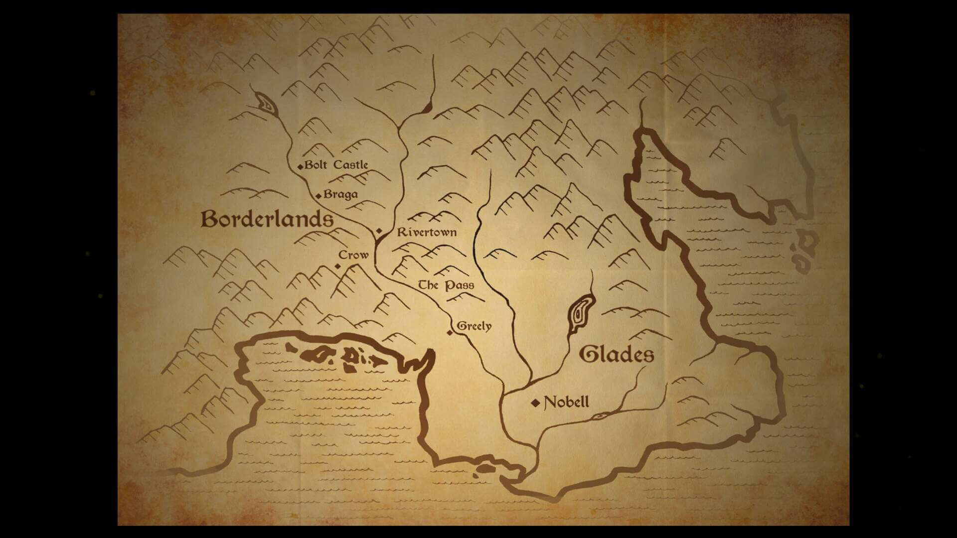 Análise The Vale, The Vale, Shadow of The Crown, Delfos