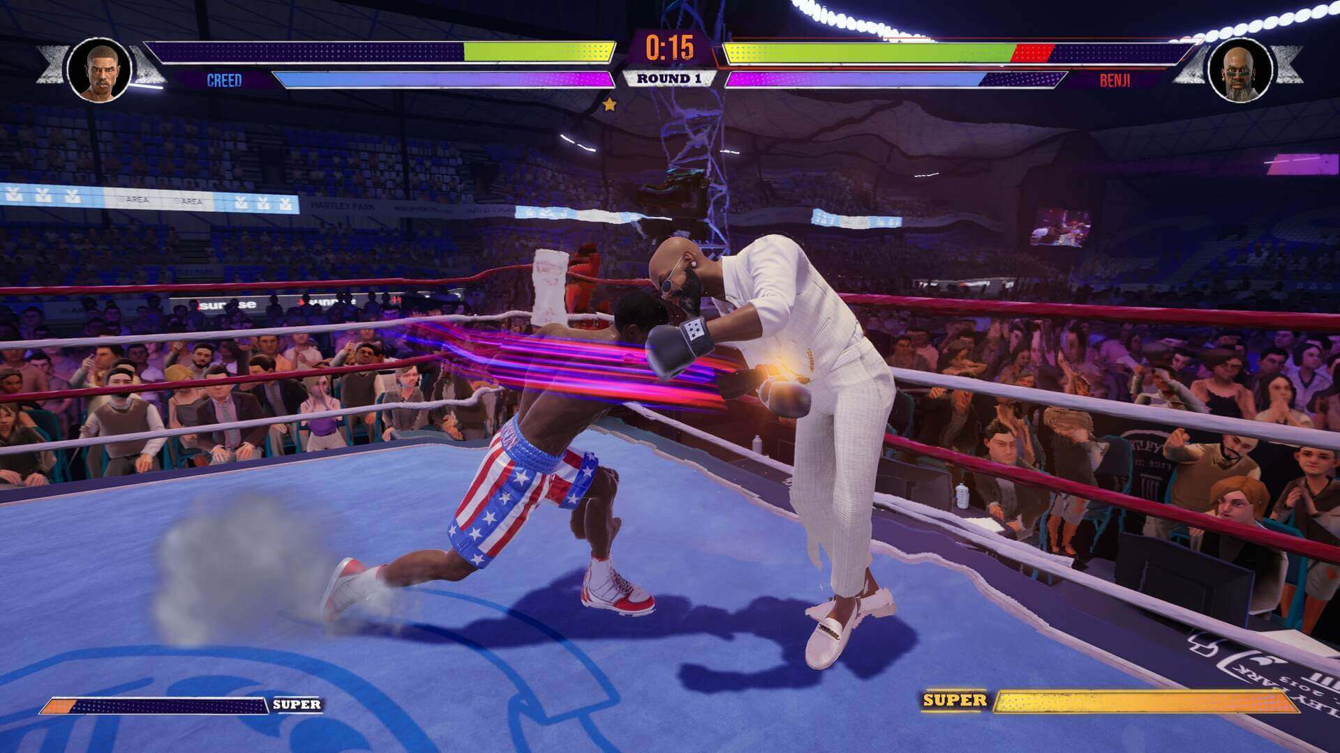 Análise Big Rumble Boxing, Creed Champions, Rocky, Creed, Delfos
