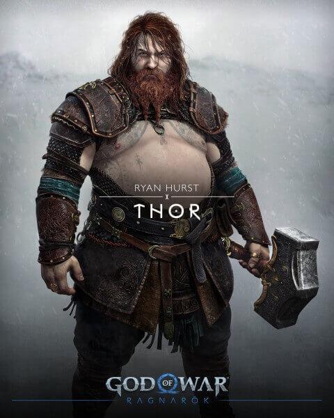 God of War Thor, Thor, God of War, Kratos, Sony, PS5, Delfos