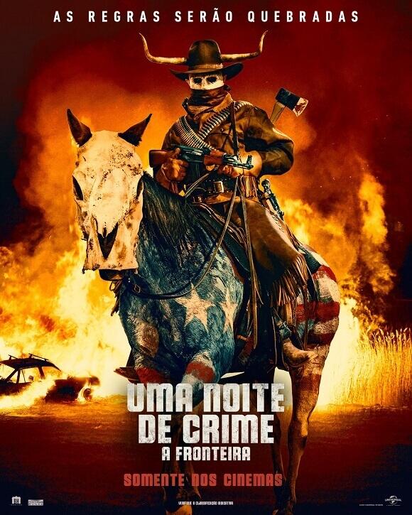 Crítica Uma Noite de Crime A Fronteira, Uma Noite de Crime A Fronteira, Uma Noite de Crime, The Purge, The Forever Purge, Delfos